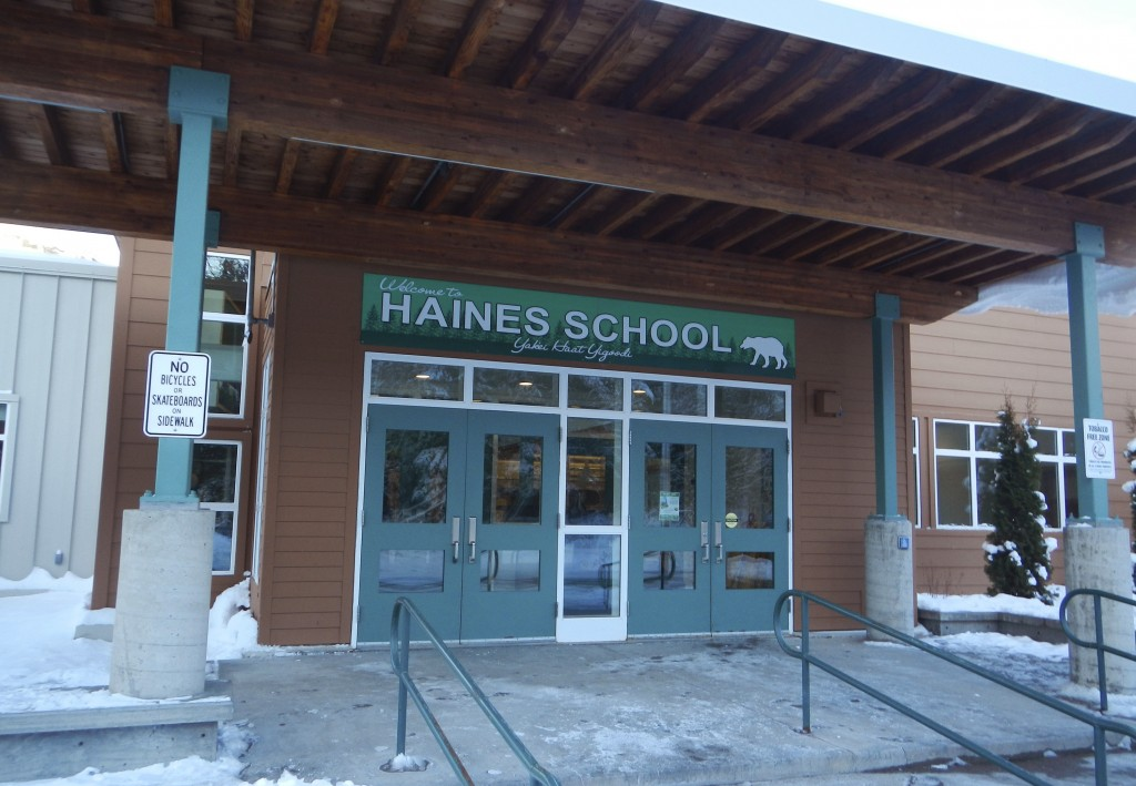 This November 2015 provided by the Alaska State Department of Education and Early Development shows the Haines School, in Haines, Alaska. The high sch