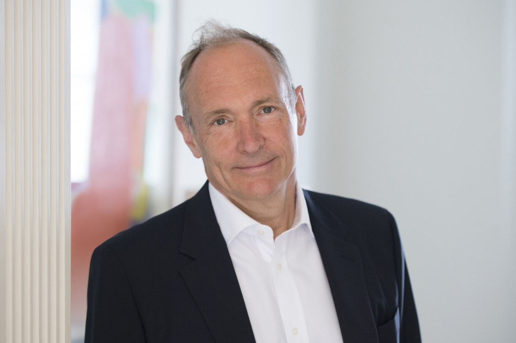 This undated photo provided by the World Wide Web Foundation shows Tim Berners-Lee. When the web turned 29 years old last month, Berners-Lee shared so...