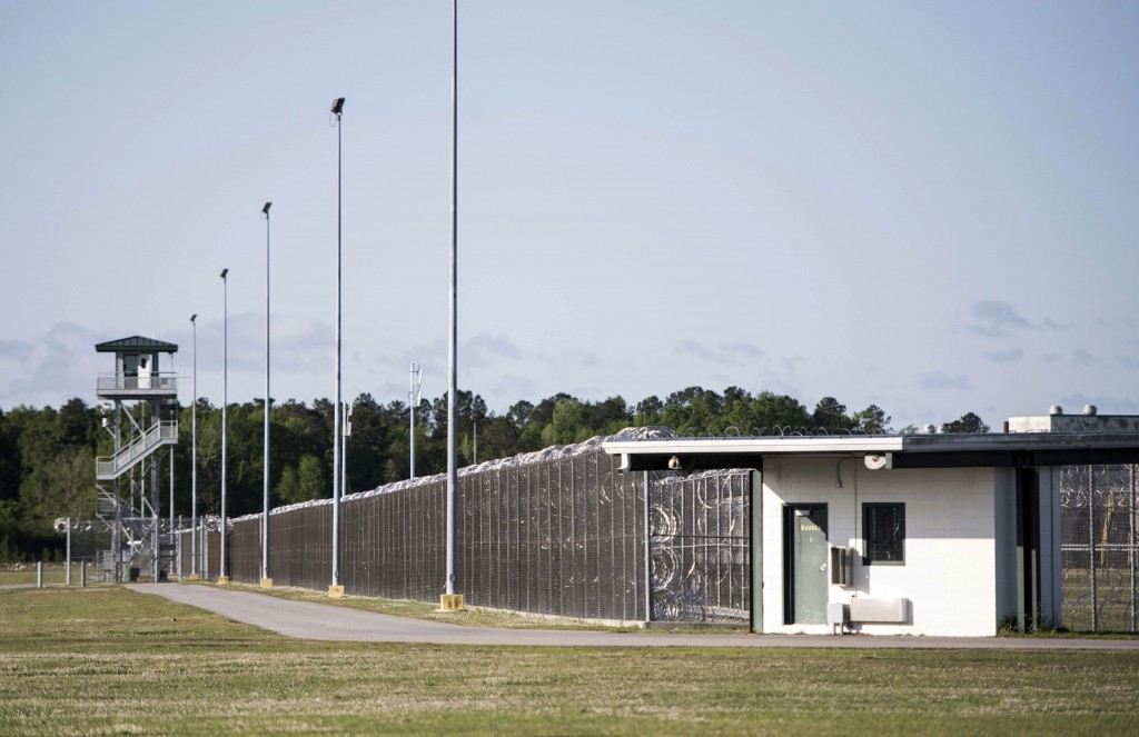 This shows the Lee Correctional Institution on Monday, April 16, 2018, in Bishopville, S.C. Multiple inmates were killed and others seriously injured
