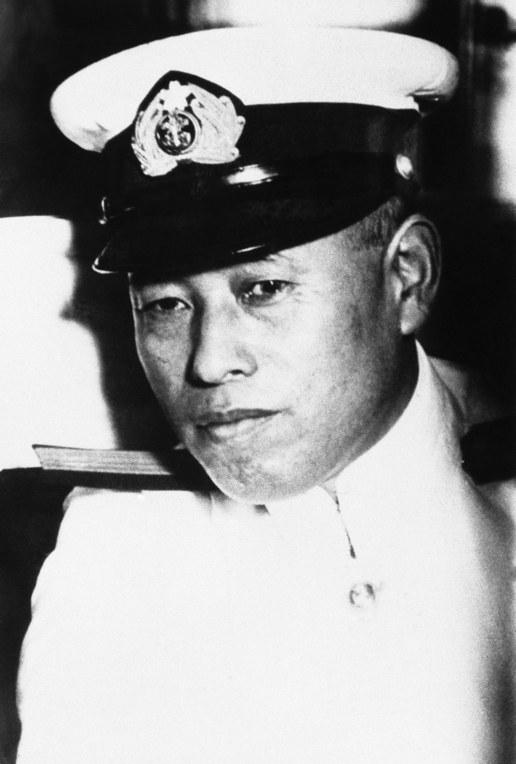 FILE - This May 21, 1943, file photo shows Admiral Isoroku Yamamoto, Commander-in-Chief of the Japanese combined fleet and the mastermind of the attac