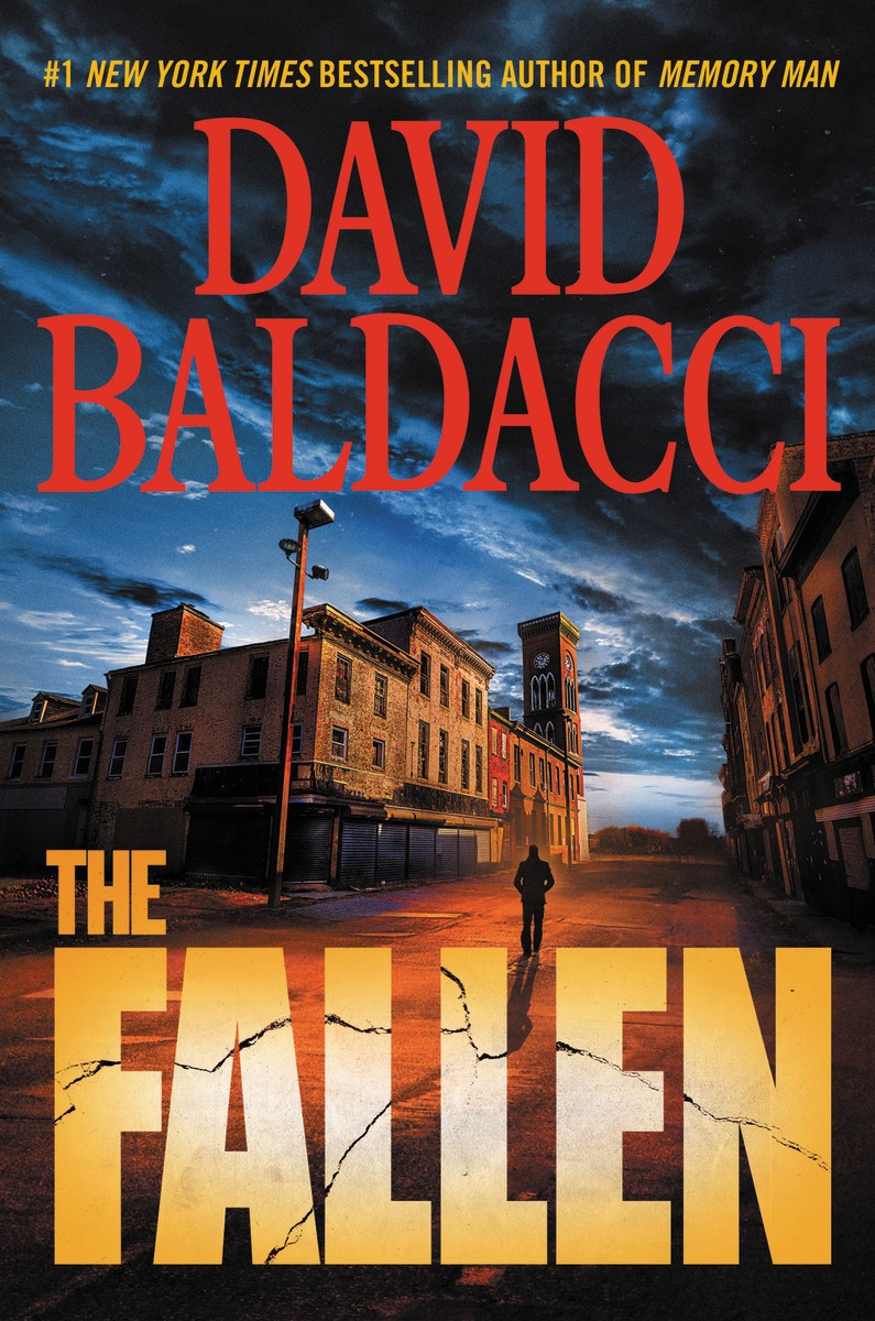 "This cover image released by Grand Central Publishing shows ""The Fallen,"" by David Baldacci. (Grand Central Publishing via AP)"