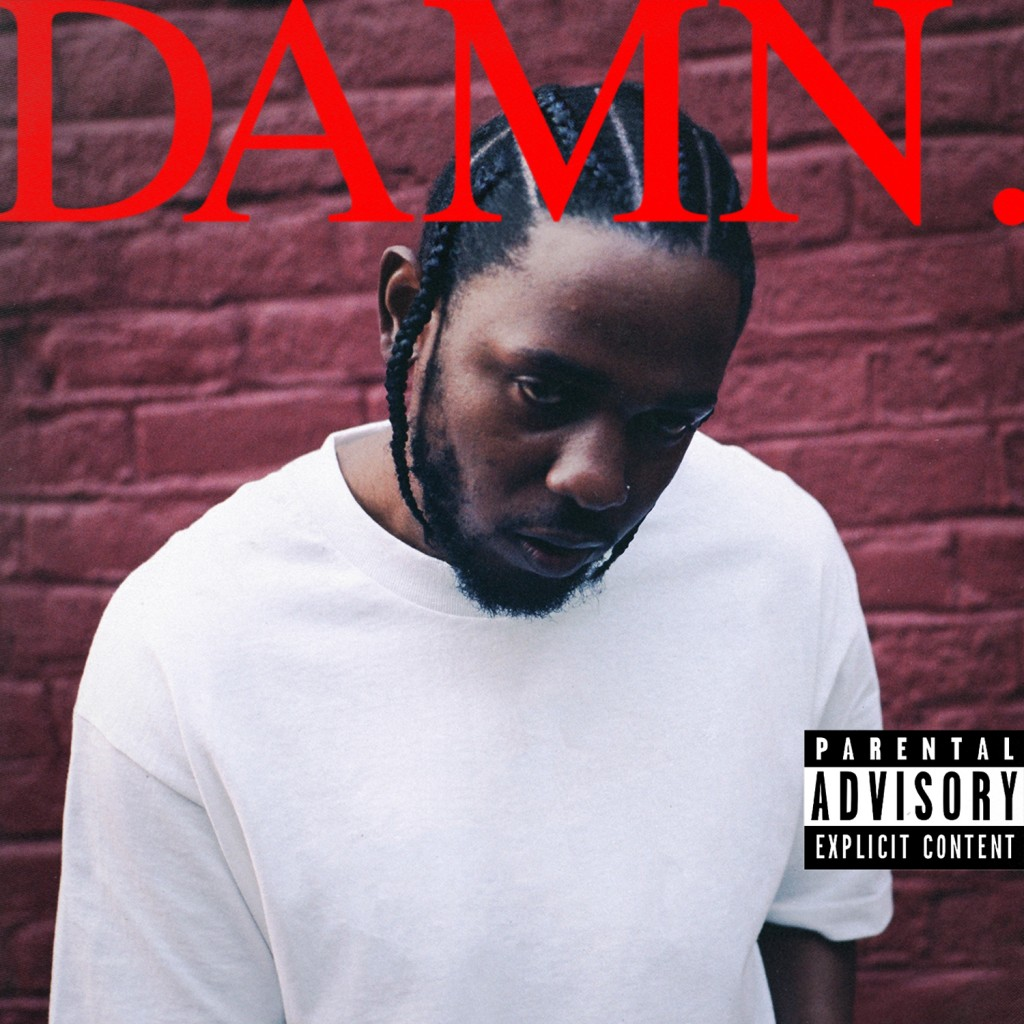 """This cover image released by Interscope Records shows """"Damn."""" by Kendrick Lamar. On Monday, April 16, 2018, Lamar won the Pulitzer Prize for music for"""