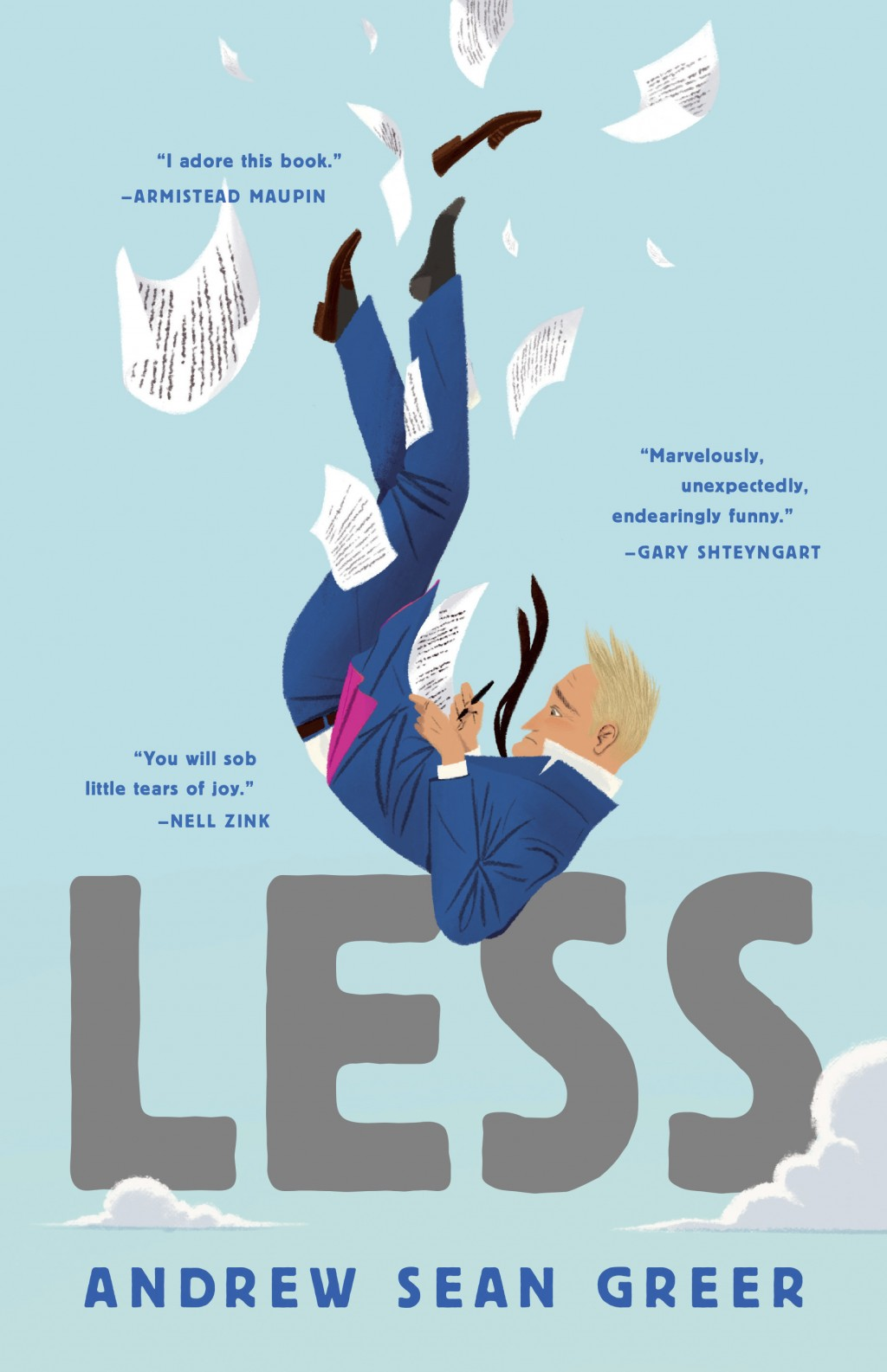 """This cover image released by Lee Boudreaux Books shows """"Less,"""" a novel by Andrew Sean Greer. On Monday, April 16, 2018, Greer won the Pulitzer Prize f"""