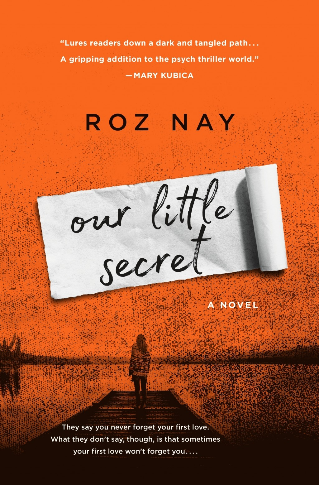 "This cover image released by St. Martin's Press shows ""Our Little Secret,"" a novel by Roz Nay. (St. Martin's Press via AP)"