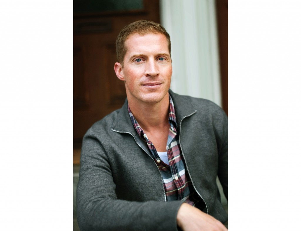 """This undated image released by Lee Boudreaux Books shows Andrew Sean Greer, author of """"Less."""" On Monday, April 16, 2018, Greer won the Pulitzer Prize"""