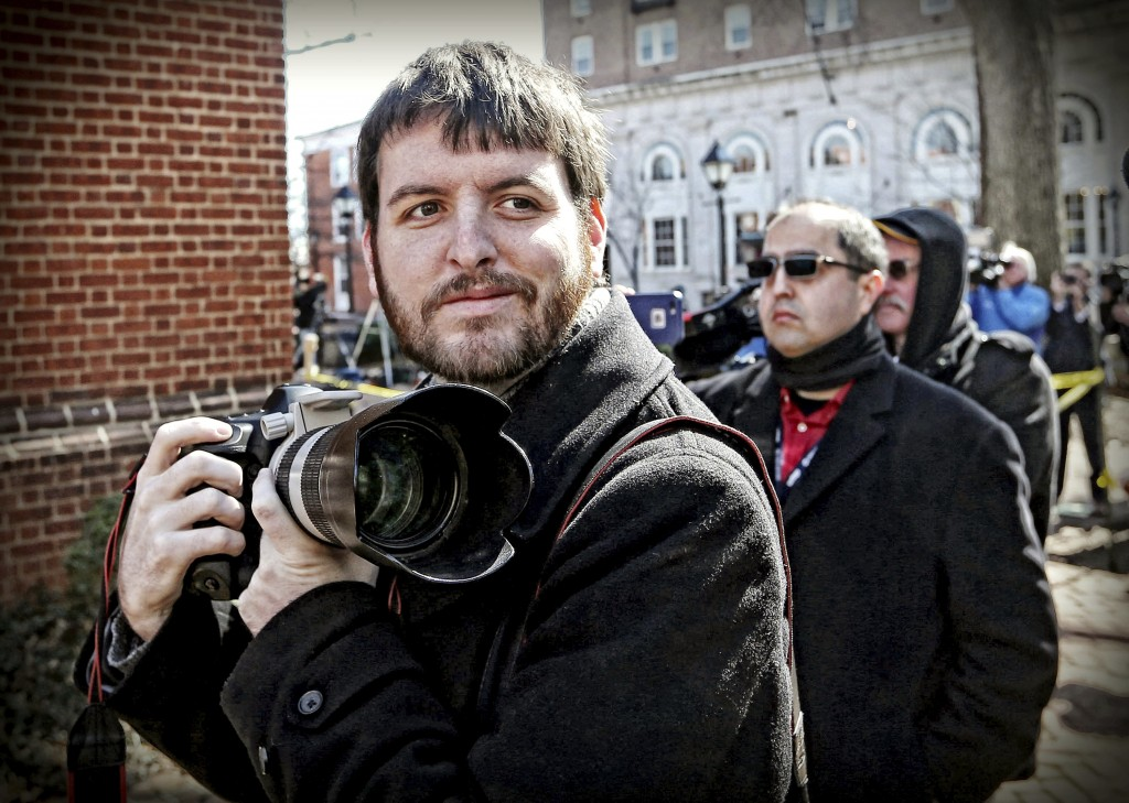 This undated photo provided by The Pulitzer Prizes shows Ryan Kelly, winner of the Pulitzer Prize for Breaking News Photography announced Monday, Apri