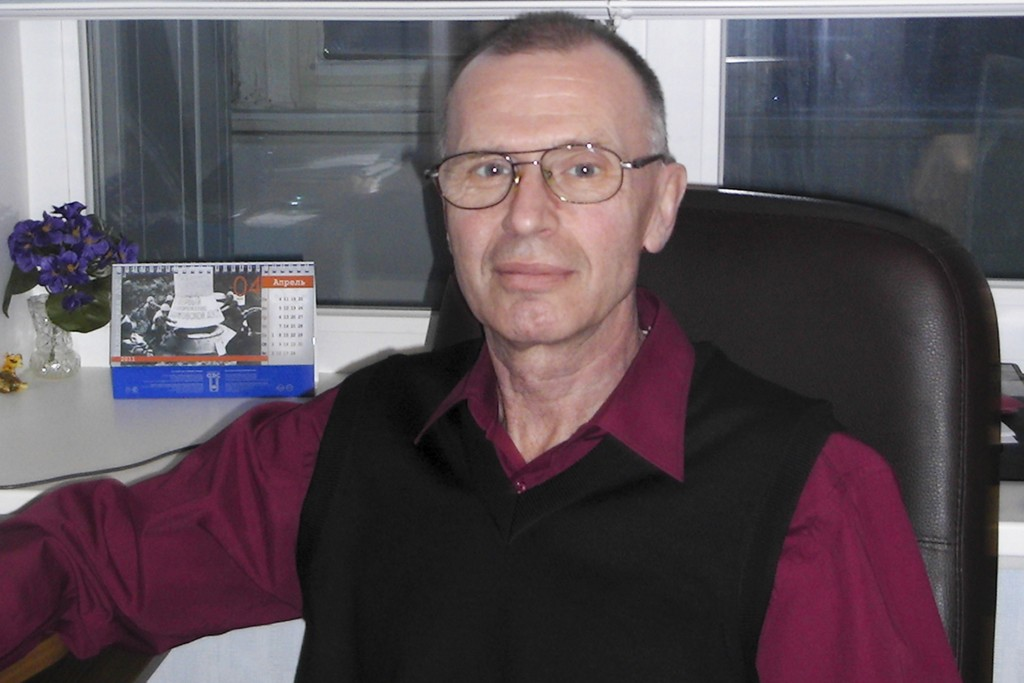 In this handout photo taken on May, 2011 by Russian chemical experts Vladimir Uglev poses for a photograph at an undisclosed location. Uglev told The ...