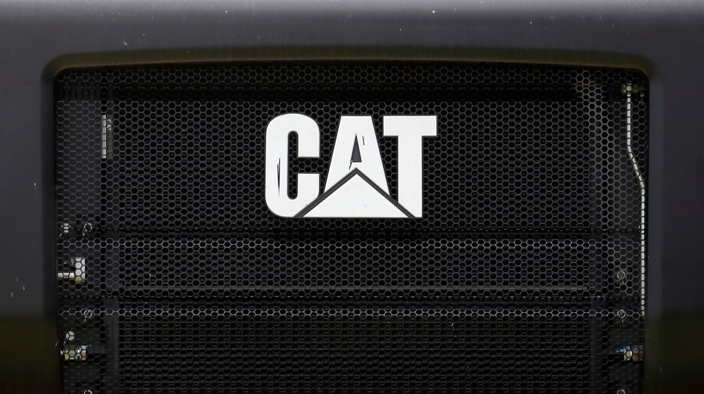 Caterpillar 1Q profit surges on equipment sales