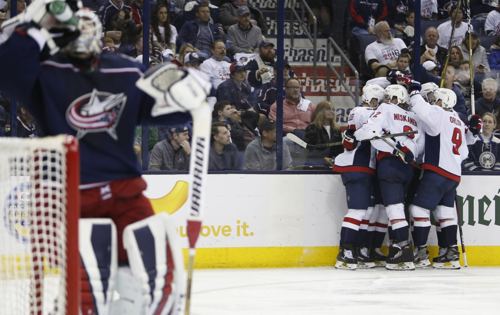 Capitals eliminate Blue Jackets with Game 6 win