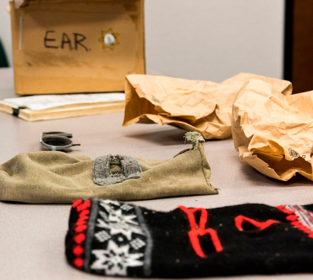 CORRECTS NAME TO SACRAMENTO SHERIFF SCOTT JONES-In this undated photo released by the FBI shows East Area Rapist Ski Masks in Sacramento, Calif. A Cal...