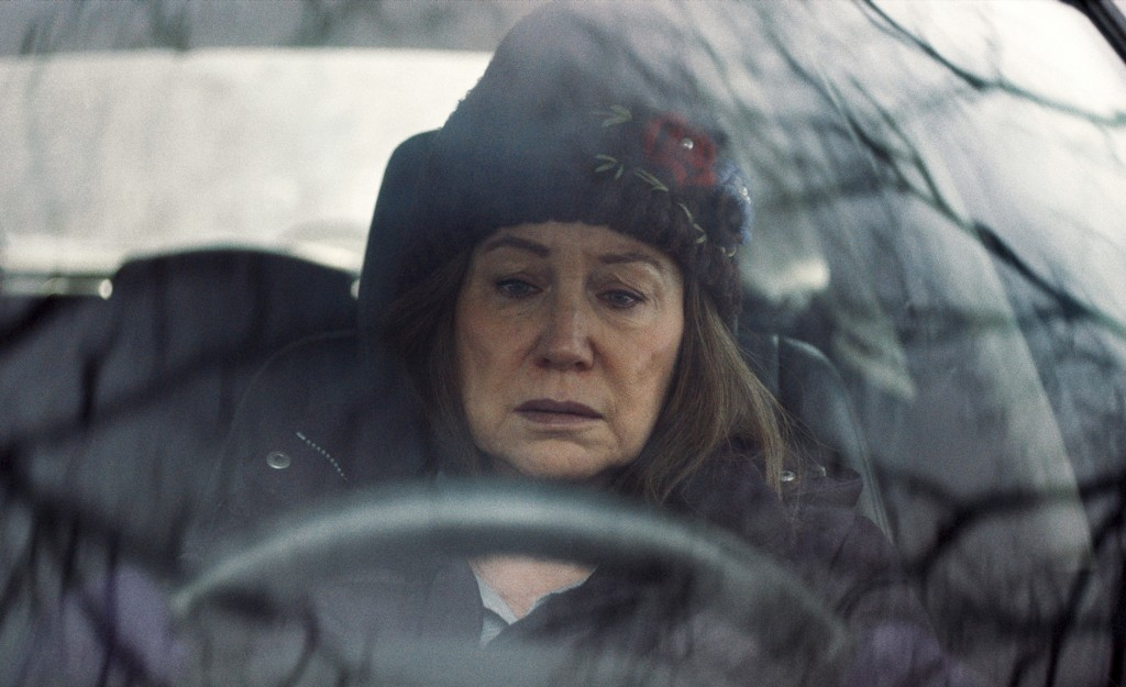 """This image released by Tribeca Film Festival shows Mary Kay Place in a scene from """"Diane.""""  The film won three awards Thursday, April 26, 2018, at the..."""