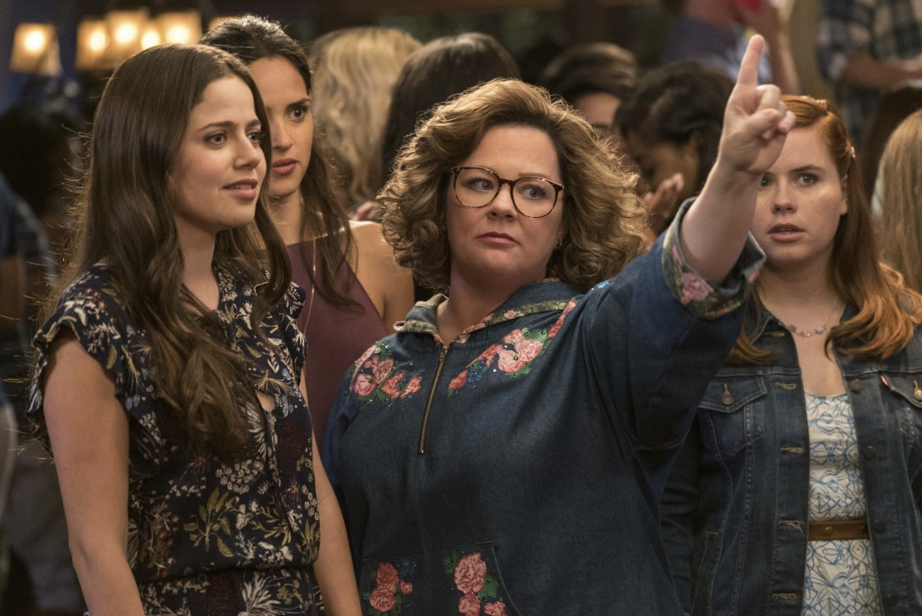 """This image released by Warner Bros. Pictures shows Molly Gordon, left, and Melissa McCarthy in a scene from """"Life of the Party,"""" in theaters on May 11..."""
