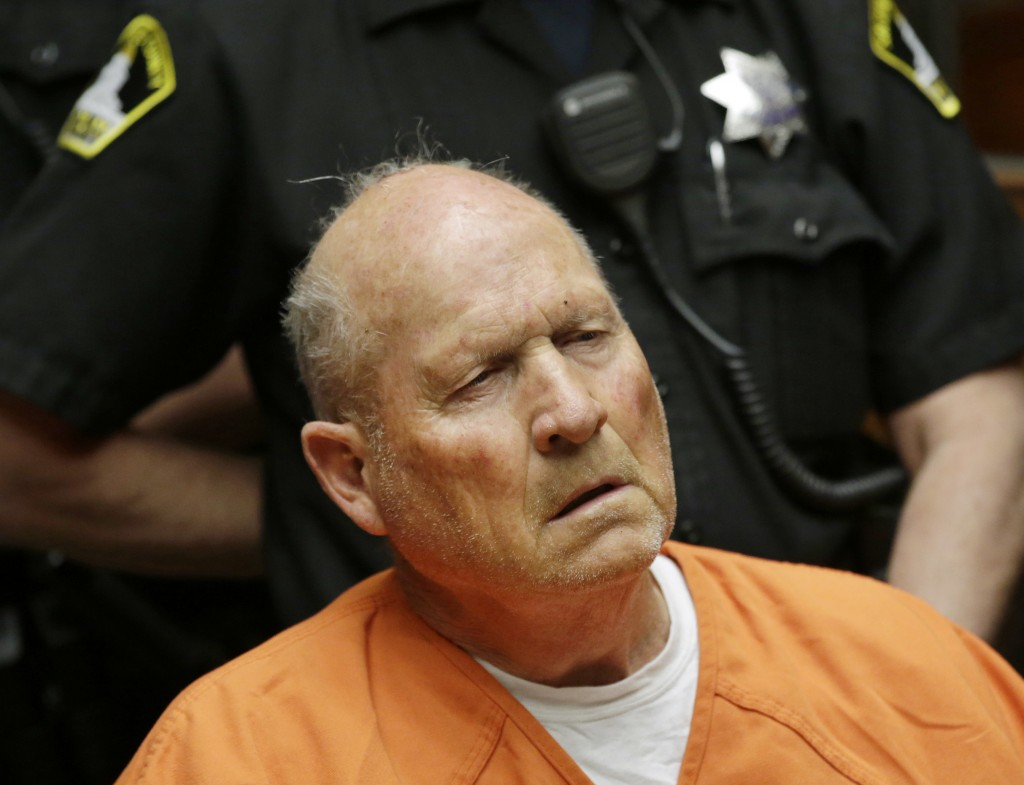 Joseph James DeAngelo, 72, who authorities suspect is the so-called Golden State Killer responsible for at least a dozen murders and 50 rapes in the 1...