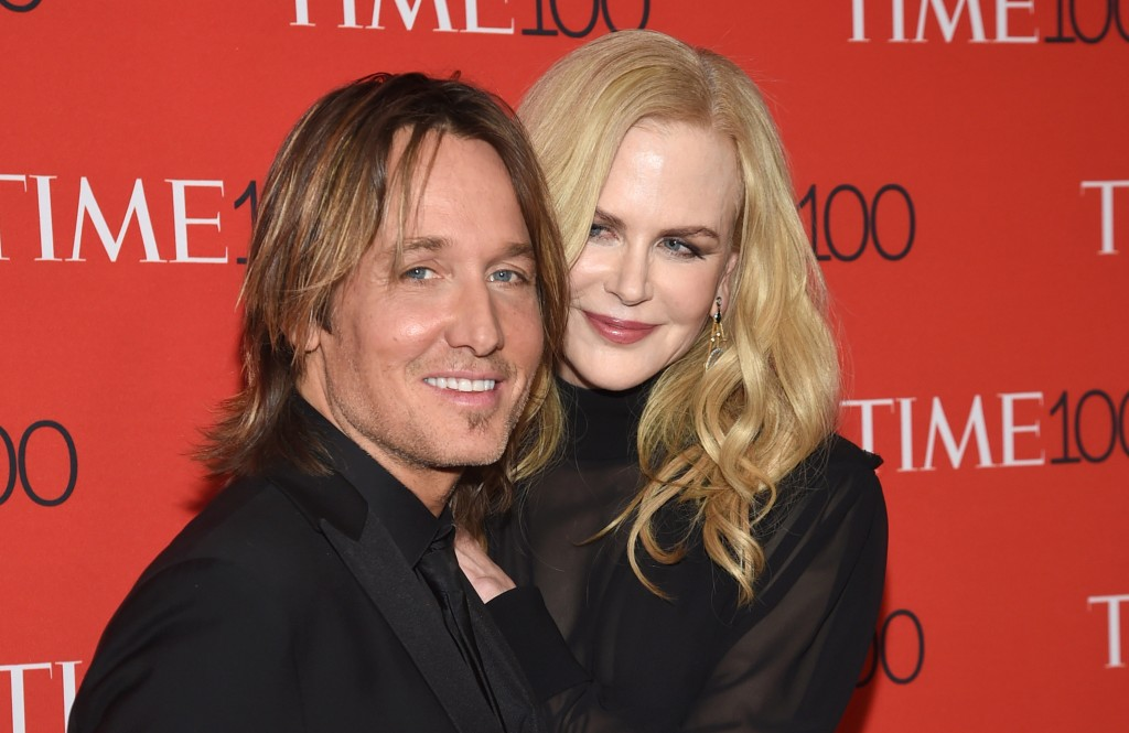 FILE - In this April 24, 2018 file photo, Keith Urban, left, and Nicole Kidman attend the Time 100 Gala celebrating the 100 most influential people in...