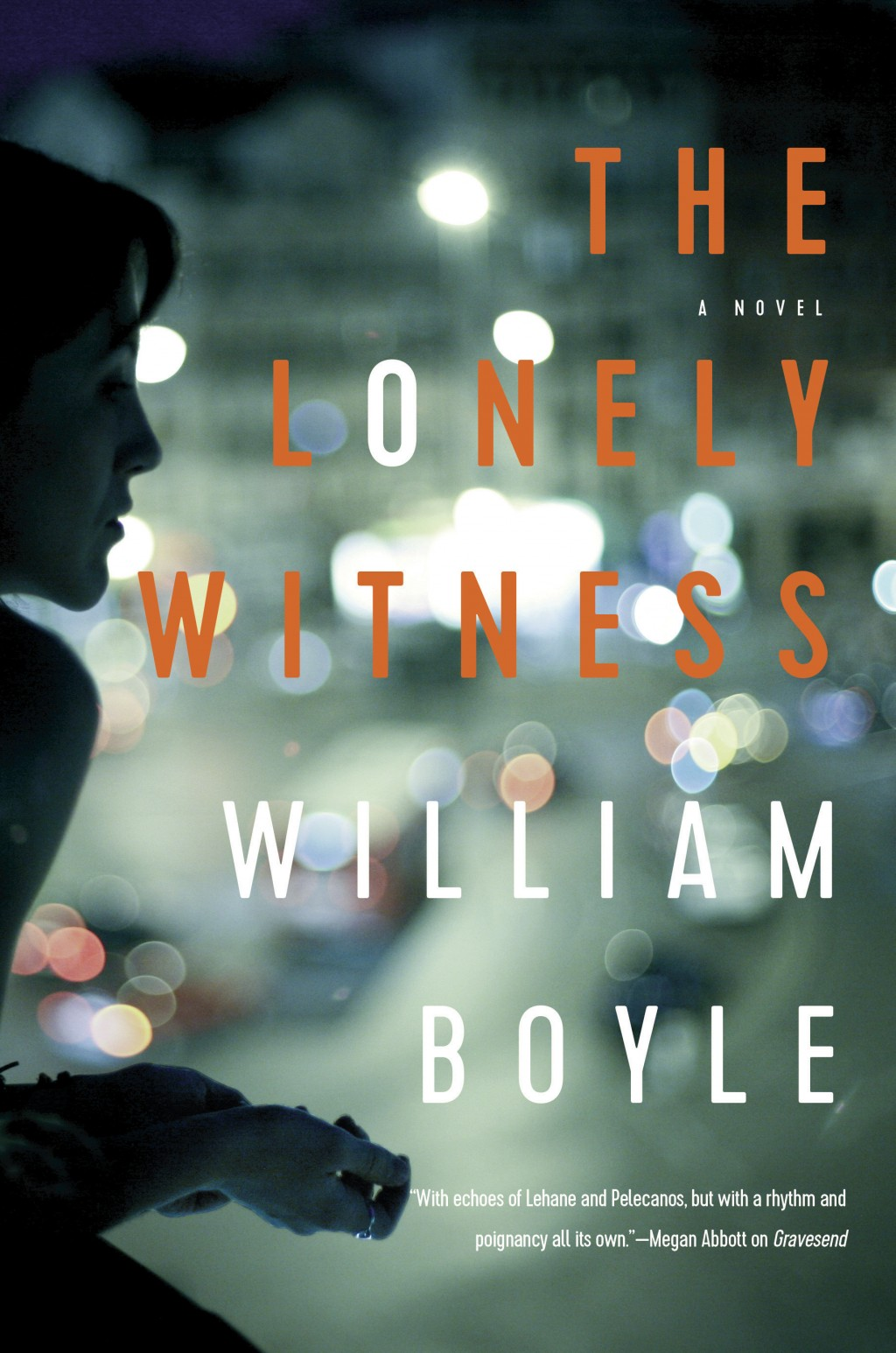 """This cover image released by Pegasus Books shows """"The Lonely Witness,"""" a novel by William Boyle. (Pegasus Books via AP)"""