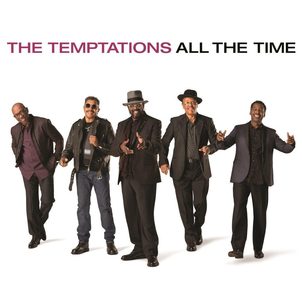 "This cover image released by UMe shows ""All the Time,"" by The Temptations. (UMe via AP)"