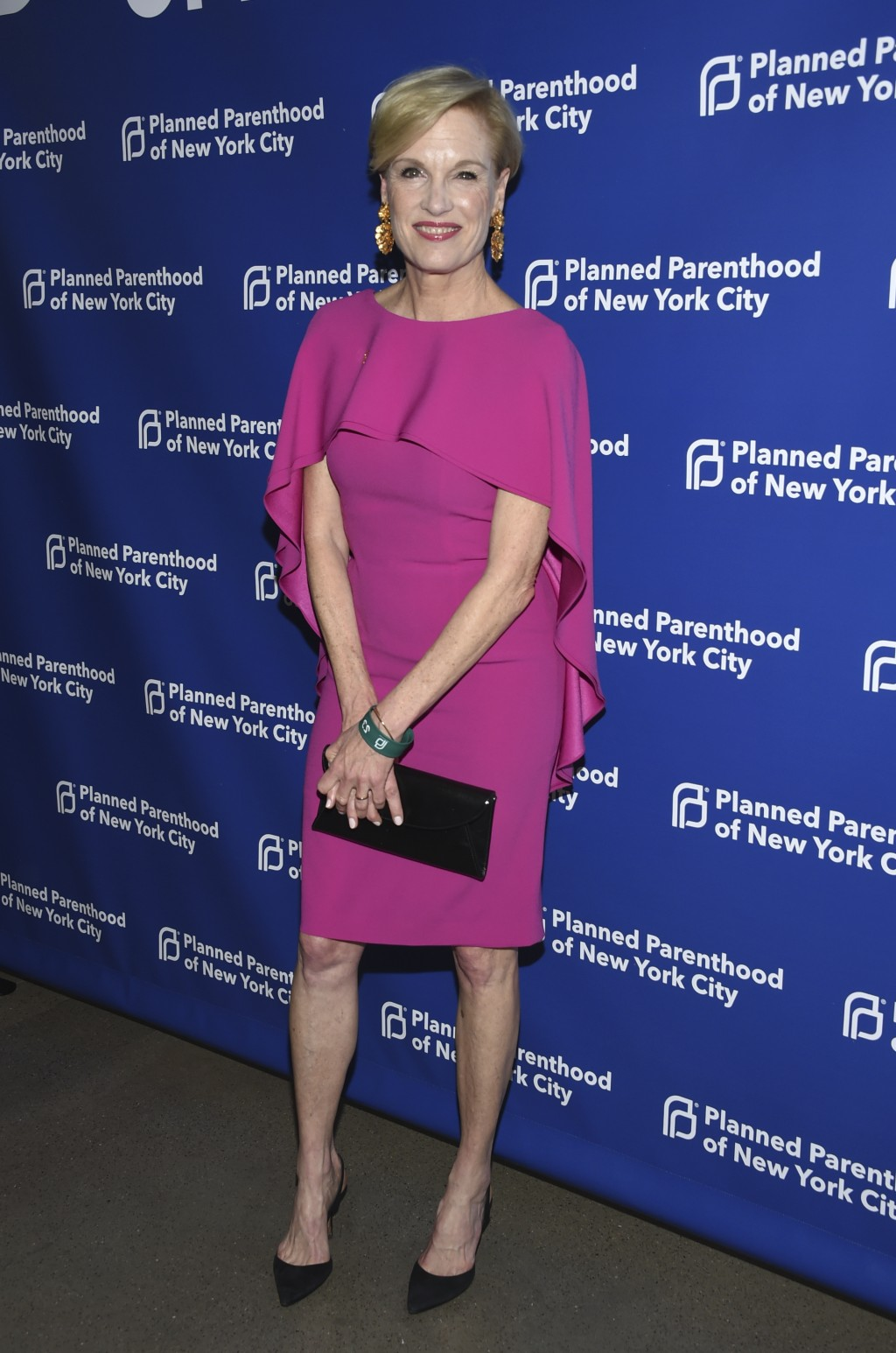 Honoree Cecile Richards attends the Planned Parenthood Benefit Gala at Spring Studios on Tuesday, May 1, 2018, in New York. (Photo by Evan Agostini/In...