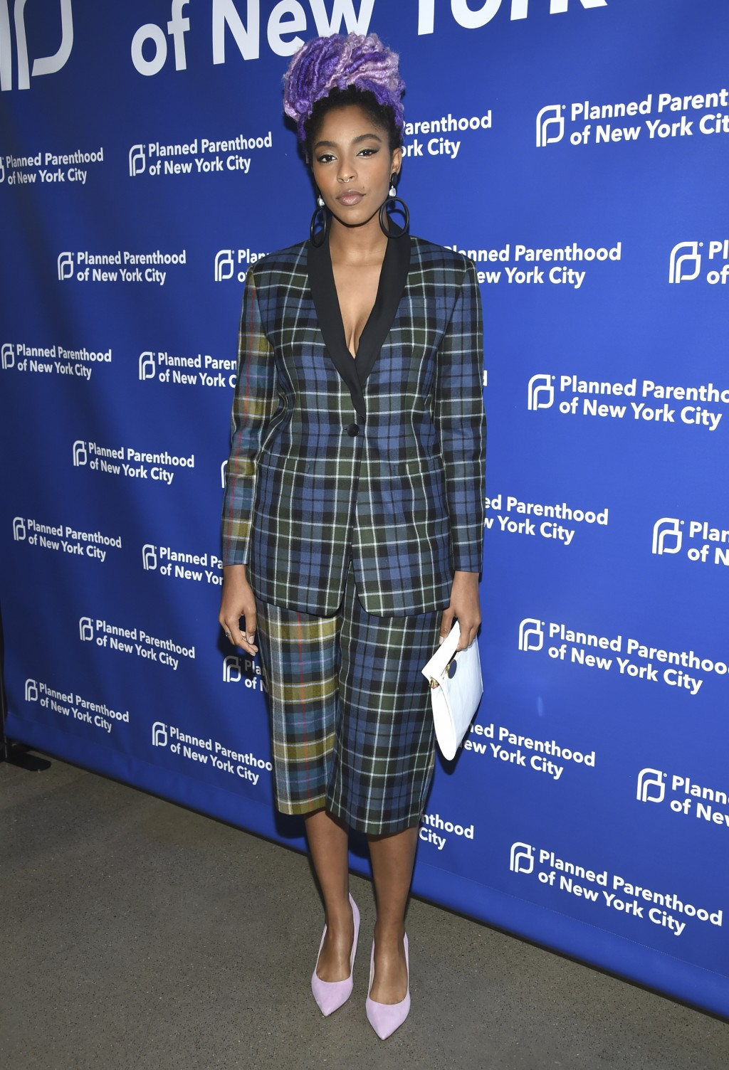 Jessica Williams attends the Planned Parenthood Benefit Gala at Spring Studios on Tuesday, May 1, 2018, in New York. (Photo by Evan Agostini/Invision/...