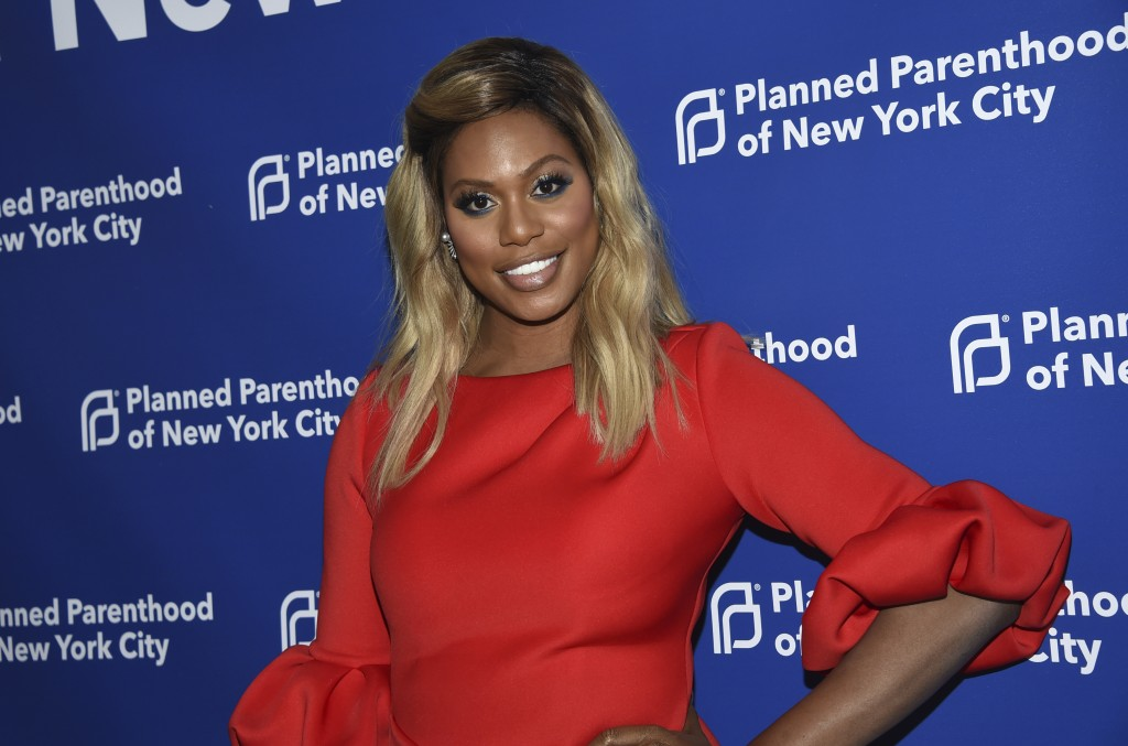 Laverne Cox attends the Planned Parenthood Benefit Gala at Spring Studios on Tuesday, May 1, 2018, in New York. (Photo by Evan Agostini/Invision/AP)