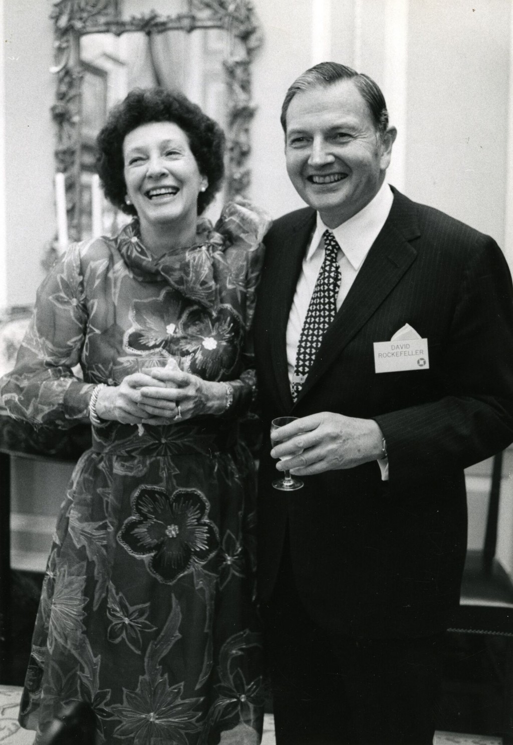 This undated photo provided by Christie's Images Ltd. 2018 shows oil-family scion David Rockefeller and his wife Peggy. Their art collection could rai...