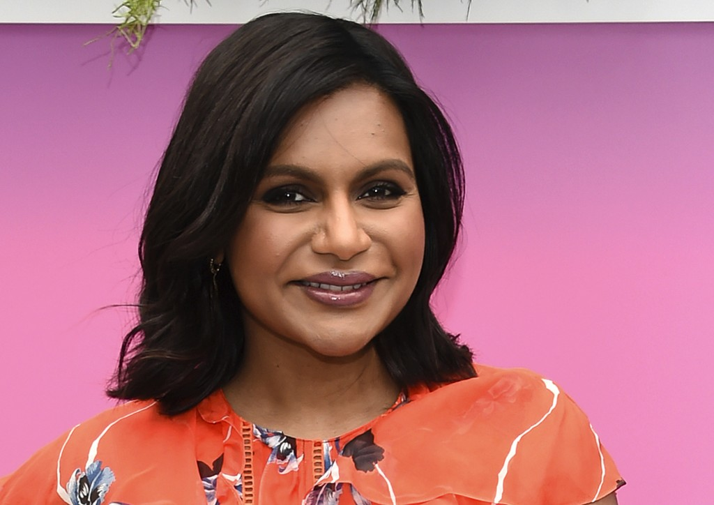 FILE - In this May 3, 2017, file photo, actress Mindy Kaling attends the Hulu 2017 Upfront Presentation at La Sirena in New York. Kaling is scheduled ...