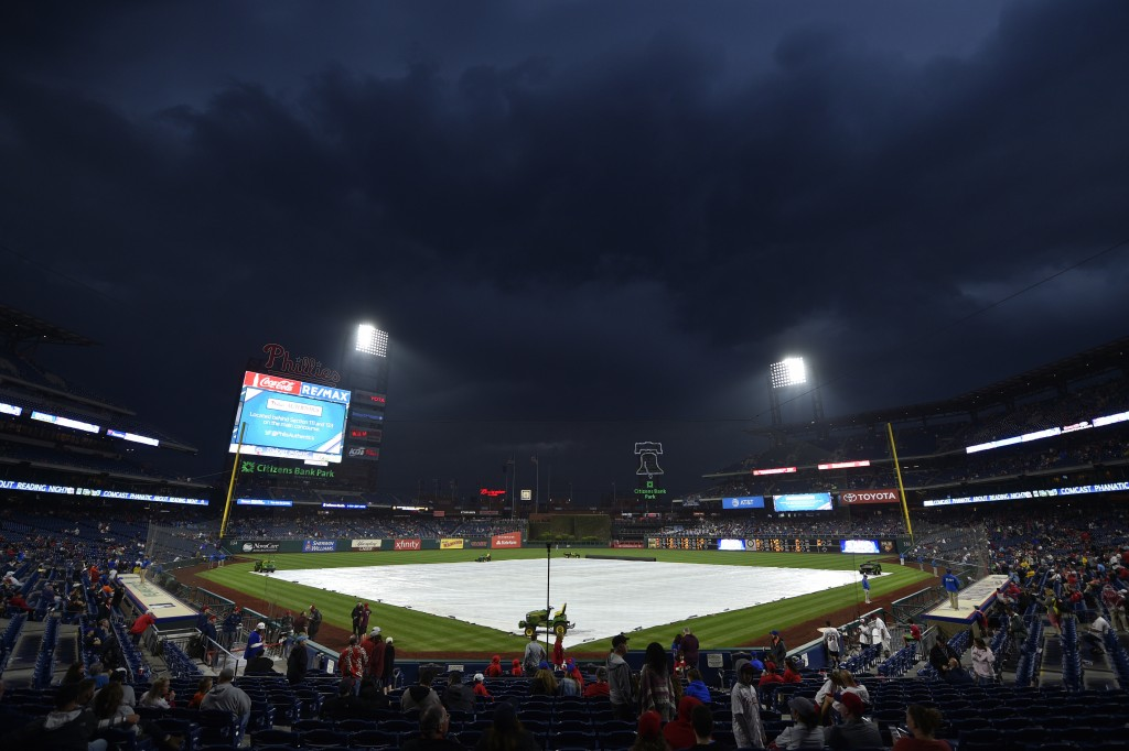 Mets-Phillies postponed by rain after 1-hour       Taiwan News