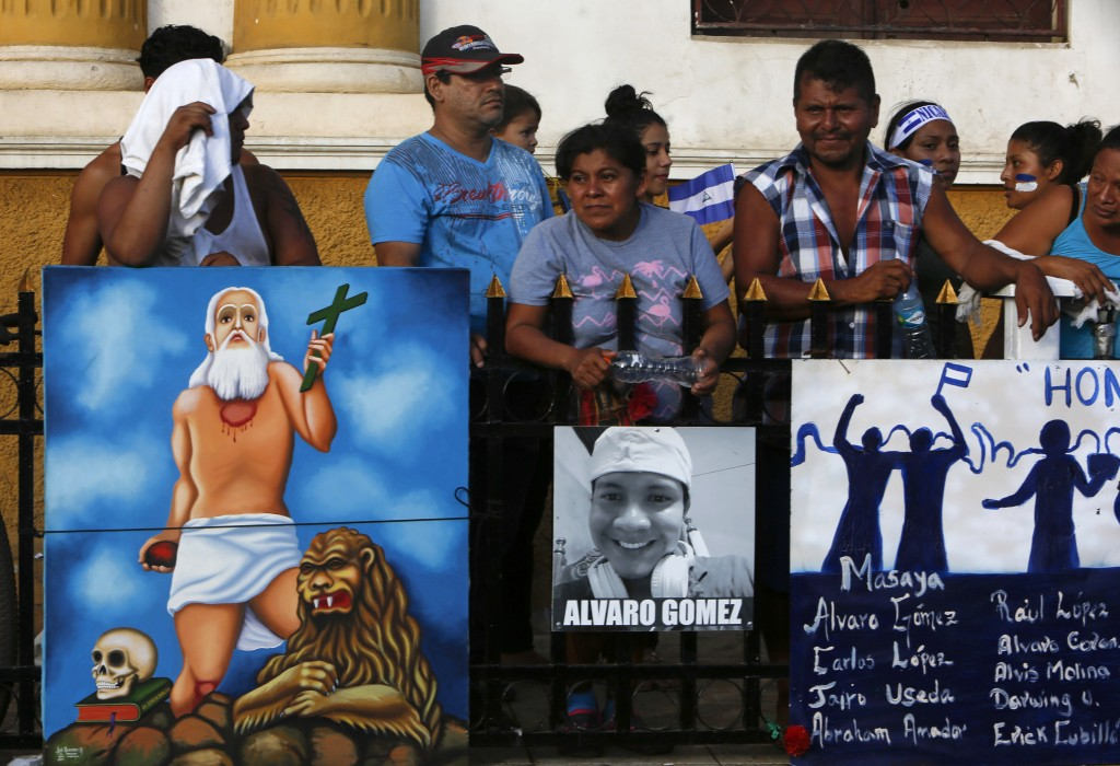 Nicaragua bishops call for dialogue on protests