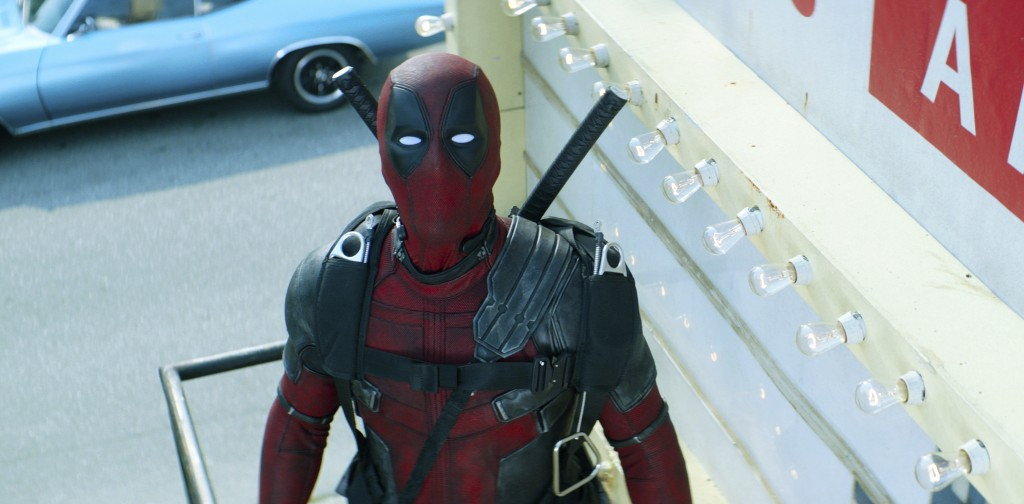 "This image released by Twentieth Century Fox shows Ryan Reynolds in a scene from ""Deadpool 2."" (Twentieth Century Fox via AP)"