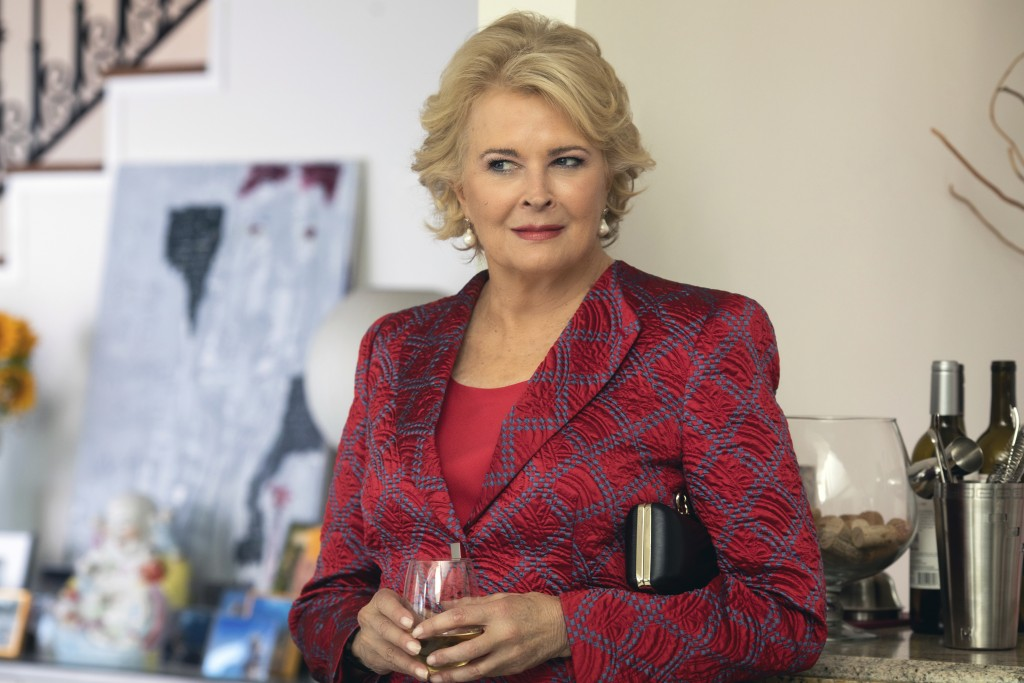 """This image released by Paramount Pictures shows Candice Bergen in a scene from """"Book Club."""" (Peter Iovino/Paramount Pictures via AP)"""