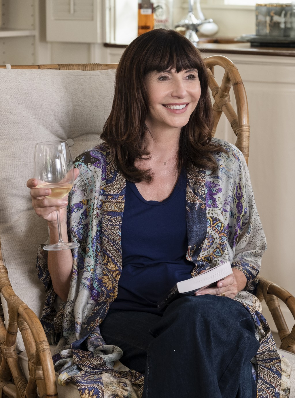 """This image released by Paramount Pictures shows Mary Steenburgen in a scene from """"Book Club."""" (Melinda Sue Gordon/Paramount Pictures via AP)"""