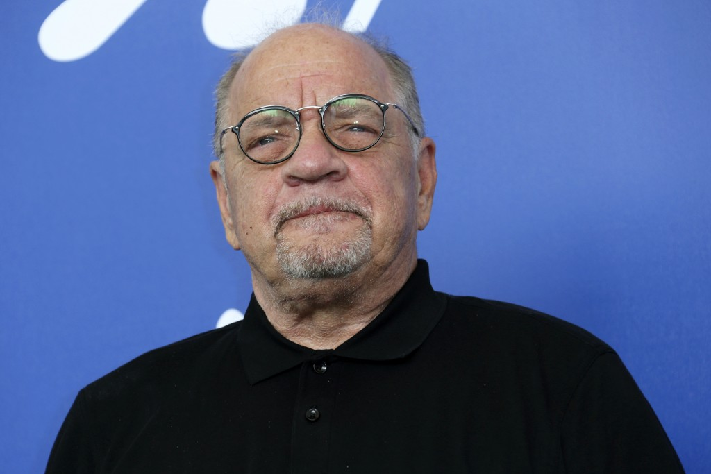 """FILE - In this Aug. 31, 2017 file photo, director Paul Schrader poses for photographers at the photo call for his film, """"First Reformed"""" during the Ve"""