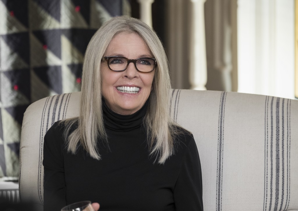 """This image released by Paramount Pictures shows Diane Keaton in a scene from """"Book Club."""" (Melinda Sue Gordon/Paramount Pictures via AP)"""