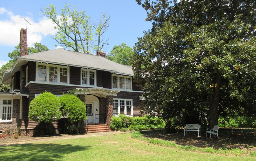 This April 28, 2018 photo shows the F. Scott and Zelda Fitzgerald Museum in Montgomery, Ala. Zelda was a Montgomery native and the couple met in 1918 ...
