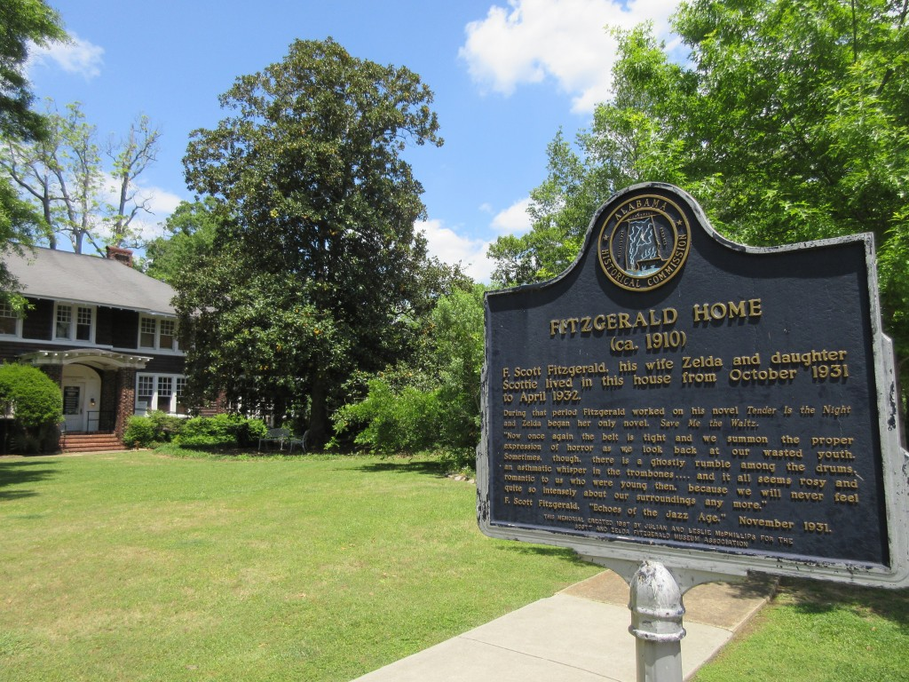 This April 28, 2018 photo shows the F. Scott and Zelda Fitzgerald Museum in Montgomery, Ala. The couple lived in the house in 1931 and 1932. Zelda was