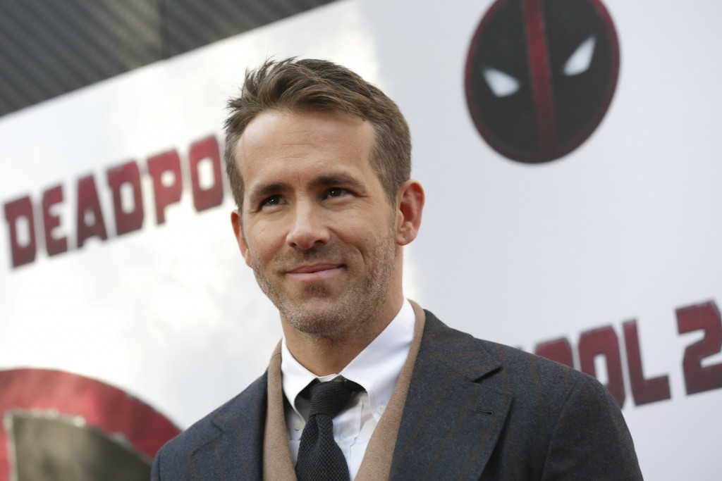 "FILE - In this May 14, 2018 file photo, actor-producer Ryan Reynolds attends a special screening of his film, ""Deadpool 2,"" at AMC Loews Lincoln Squar"