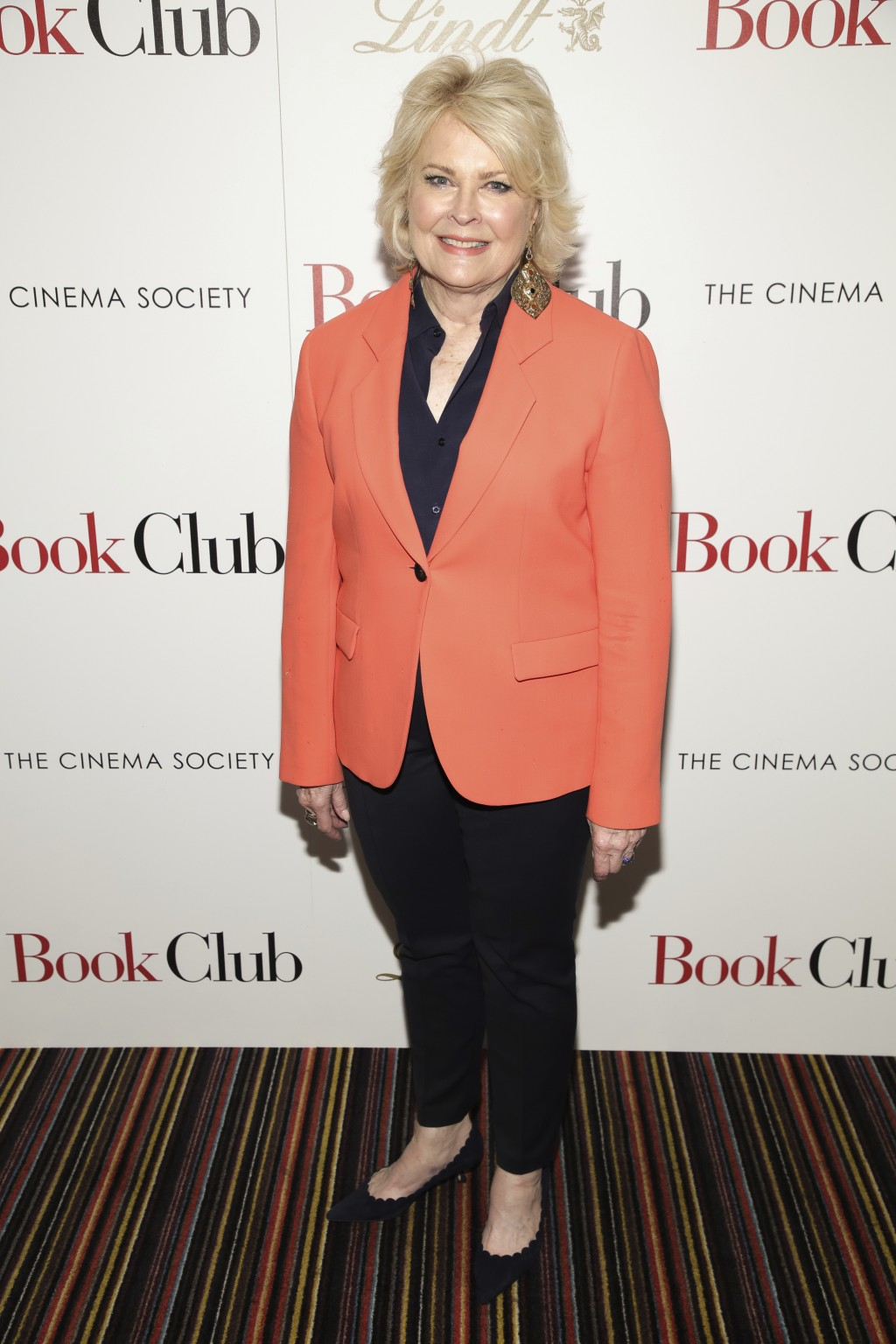 "Actress Candice Bergen attends a special screening of Paramount Pictures' ""Book Club,"" hosted by The Cinema Society, at City Cinemas 123 on Tuesday, M"