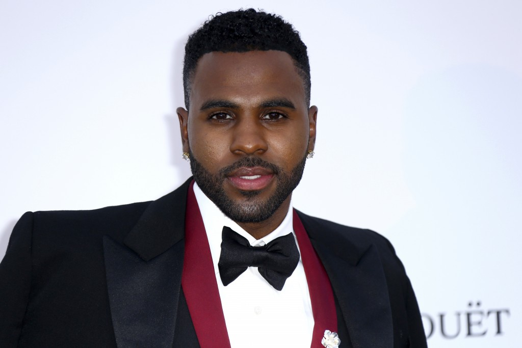 Singer Jason Derulo poses for photographers upon arrival at the amfAR, Cinema Against AIDS, benefit at the Hotel du Cap-Eden-Roc, during the 71st inte