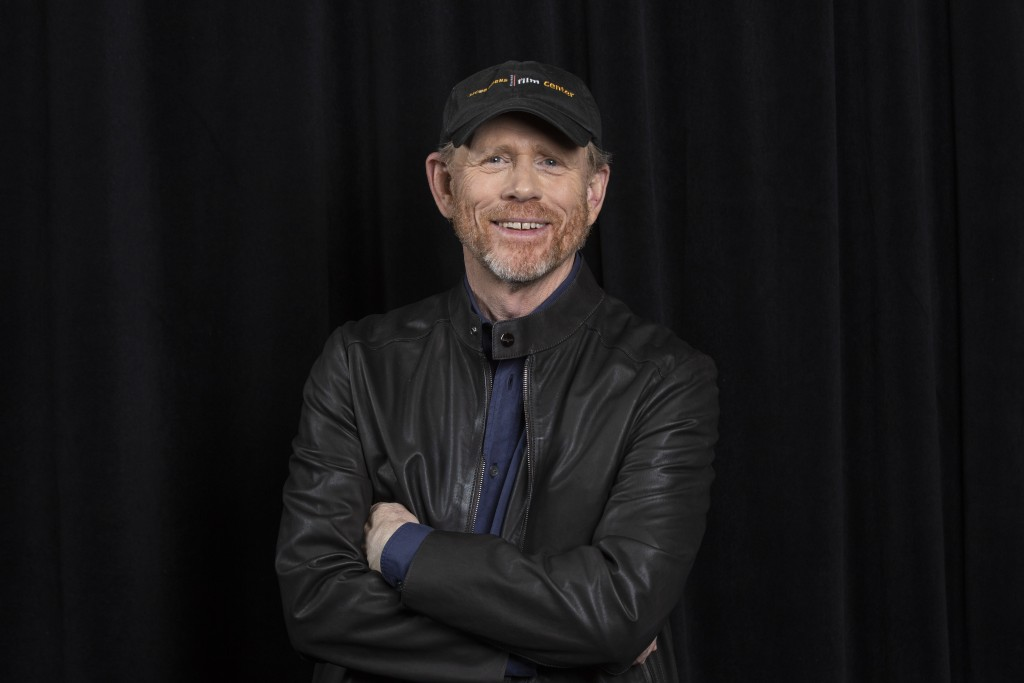 "In this May 12, 2018 photo director Ron Howard poses for a portrait to promote his film, ""Solo: A Star Wars Story"" in Pasadena, Calif. The film opens"