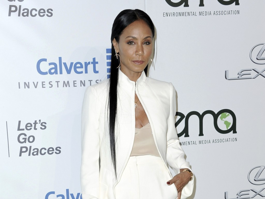 FILE - In this Oct. 22, 2016 file photo, Jada Pinkett Smith attends the 26th Annual EMA Awards in Burbank, Calif. Pinkett Smith hosts a multi-generati