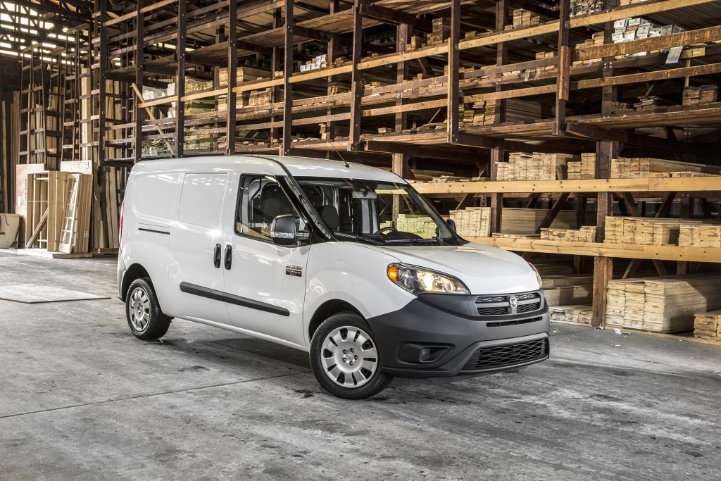 This photo provided by Ram shows the 2018 Ram ProMaster City, an example of a small cargo van. The ProMaster City cargo van built up its reputation in