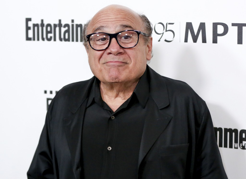 FILE - In this April 7, 2016 file photo, Danny DeVito arrives at the 5th Annual Reel Stories, Real Lives Benefit in Los Angeles.  Disney has released