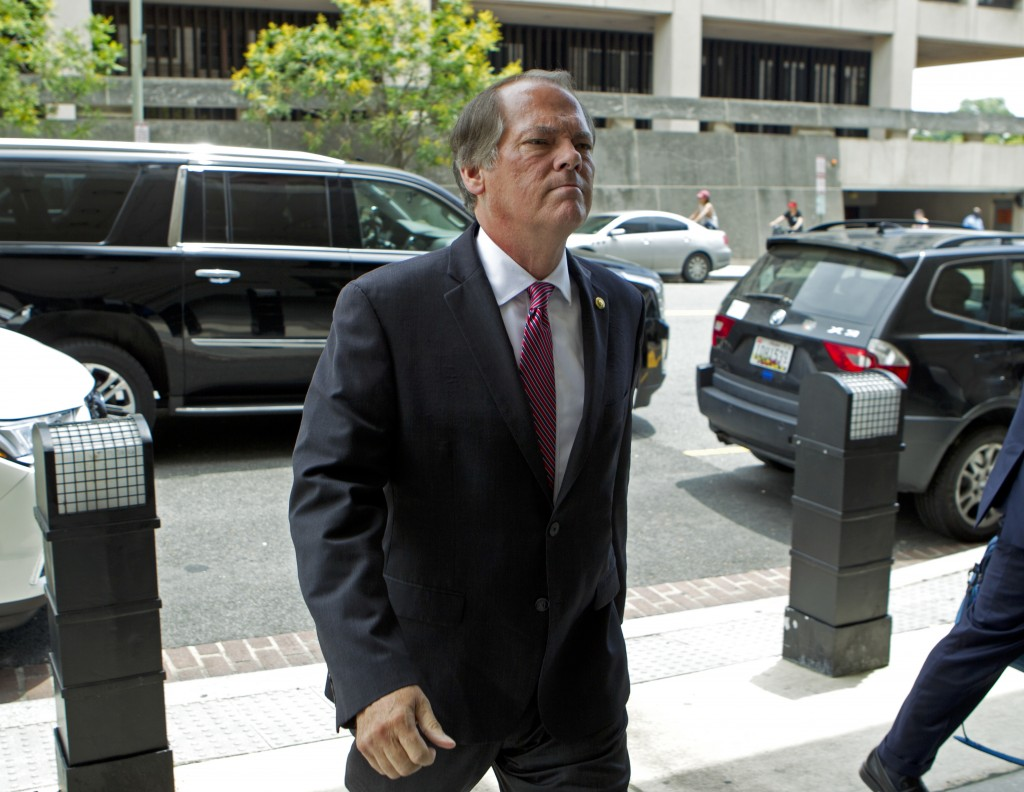 James Wolfe former director of security with the Senate Intelligence Committee arrives at the federal courthouse, Wednesday, June 13, 2018, in Washing