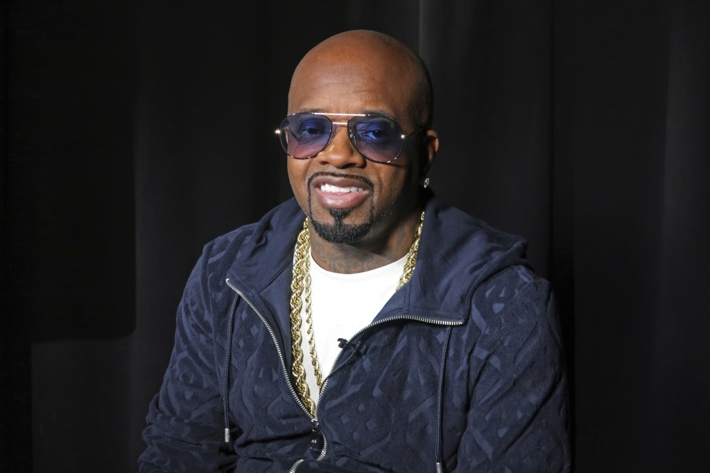 This May 24, 2018 photo shows music maker Jermaine Dupri during an interview in New York. Dupri will be inducted into the Songwriters Hall of Fame on