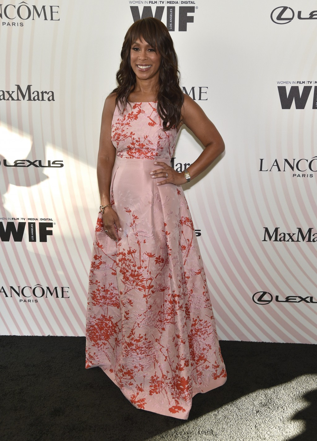 ABC President Channing Dungey arrives at the Women In Film Crystal and Lucy Awards at the Beverly Hilton Hotel on Wednesday, June 13, 2018, in Beverly