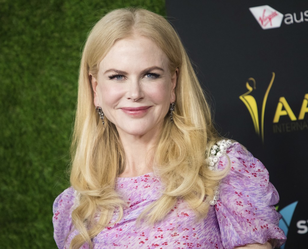 FILE - In this Jan. 5, 2018 file photo, Nicole Kidman appears at the 7th annual AACTA International Awards in Los Angeles. Amazon Studios says it's si