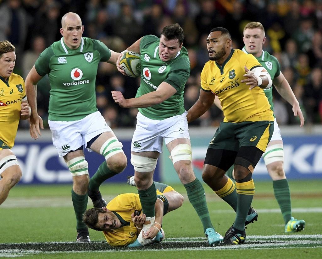 Ireland level series with overdue win in Australia