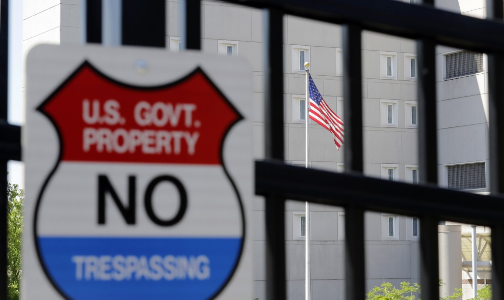 This photo shows the Federal Detention Center where Blanca Orantes-Lopez is held away from her child Tuesday, June 19, 2018, in SeaTac, Wash. The woma...