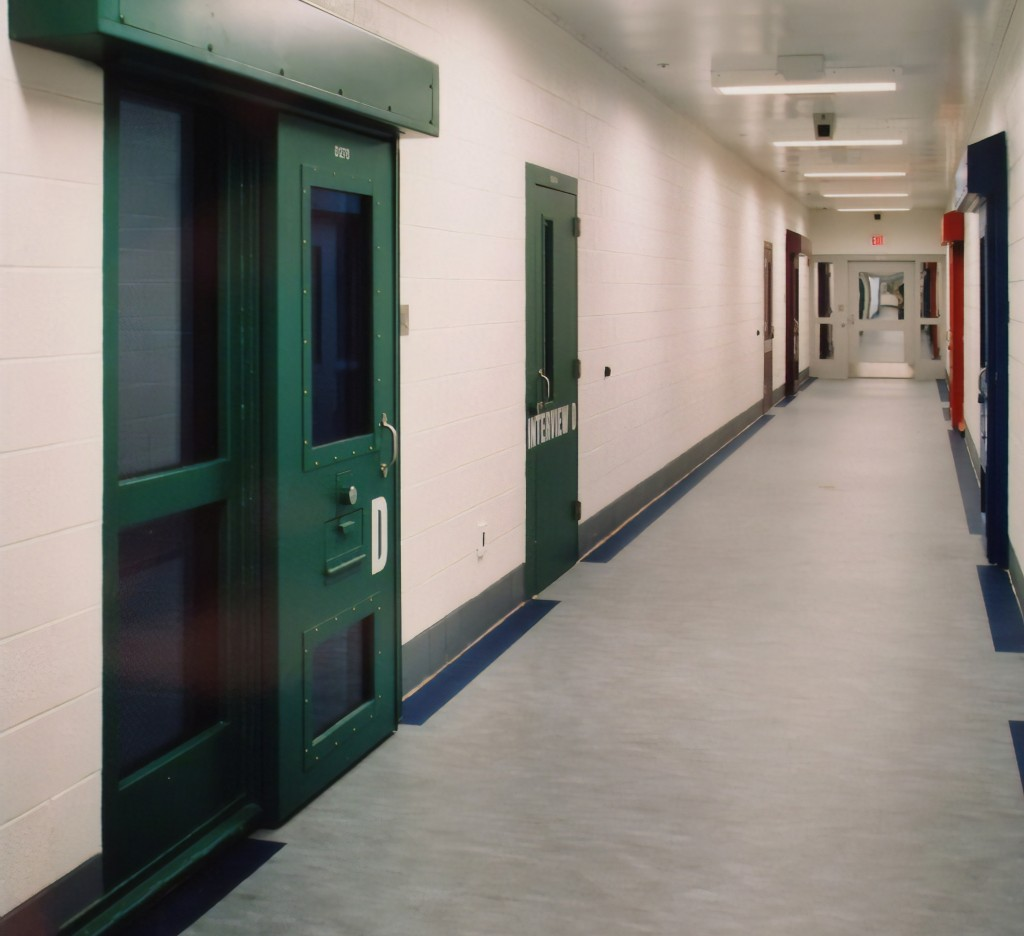 This image provided by the Shenandoah Valley Juvenile Center shows part of the interior of the building in Staunton, Va. Immigrant children as young a