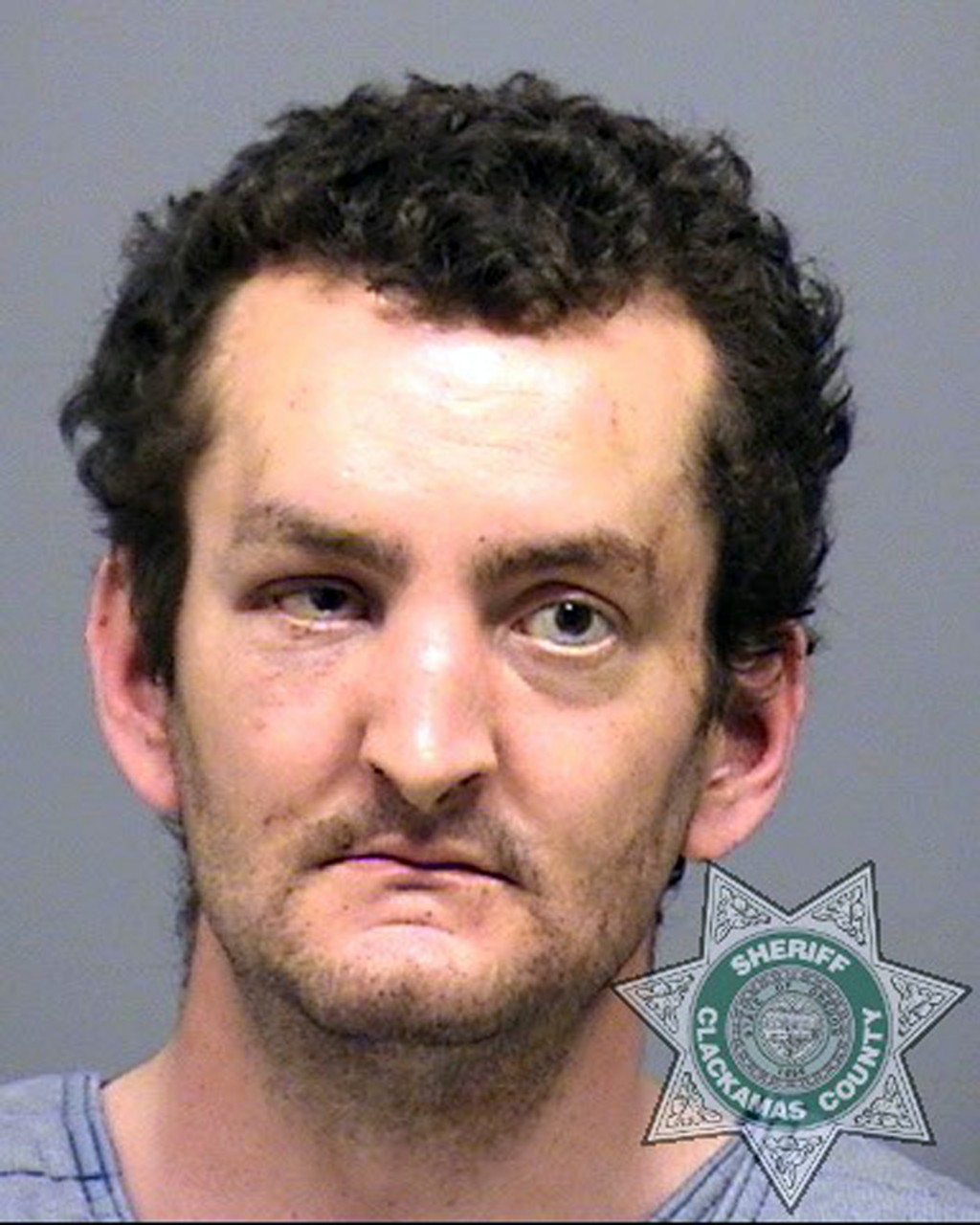 FILE- This undated file photo provided by the Clackamas County Sheriff's office shows Joshua Webb. Webb has been committed to a state mental hospital ...