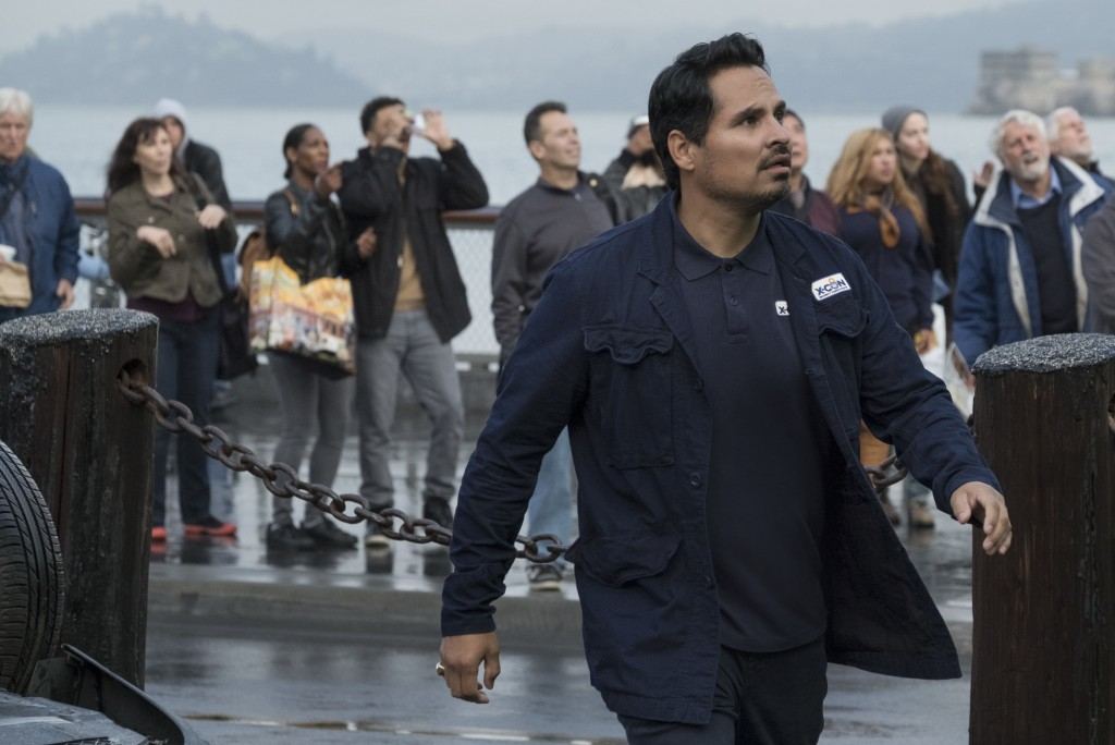 "This image released by Marvel Studios shows Michael Pena in a scene from ""Ant-Man and the Wasp."" (Disney/Marvel Studios via AP)"